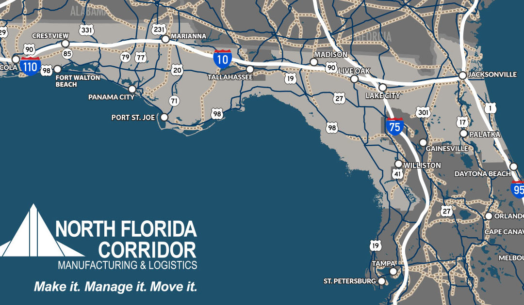 North Florida Counties Partner to Grow the Super Region for Manufacturing & Logistics